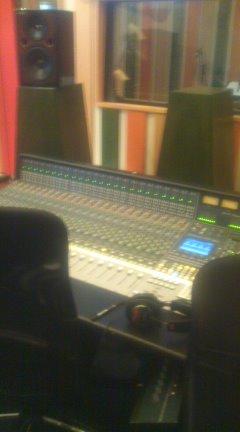 レコーディング現場…